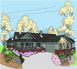 House Plan #145-1497