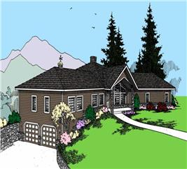 House Plan #145-1500