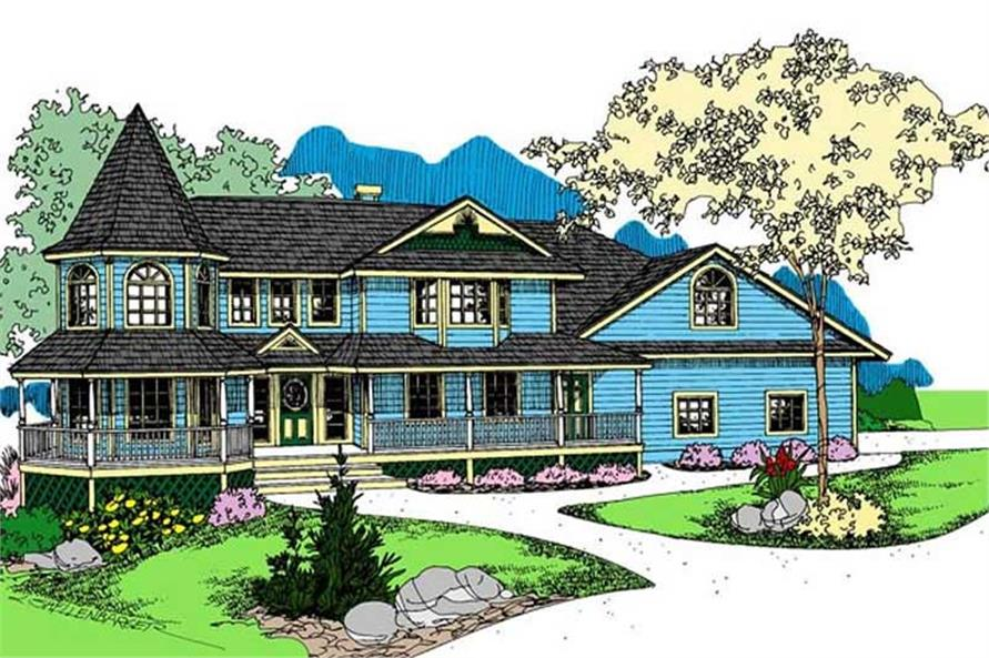 Main image for house plan # 7658