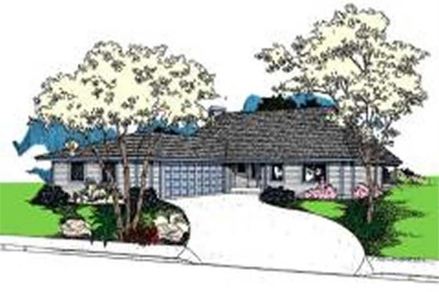 Main image for house plan # 7660