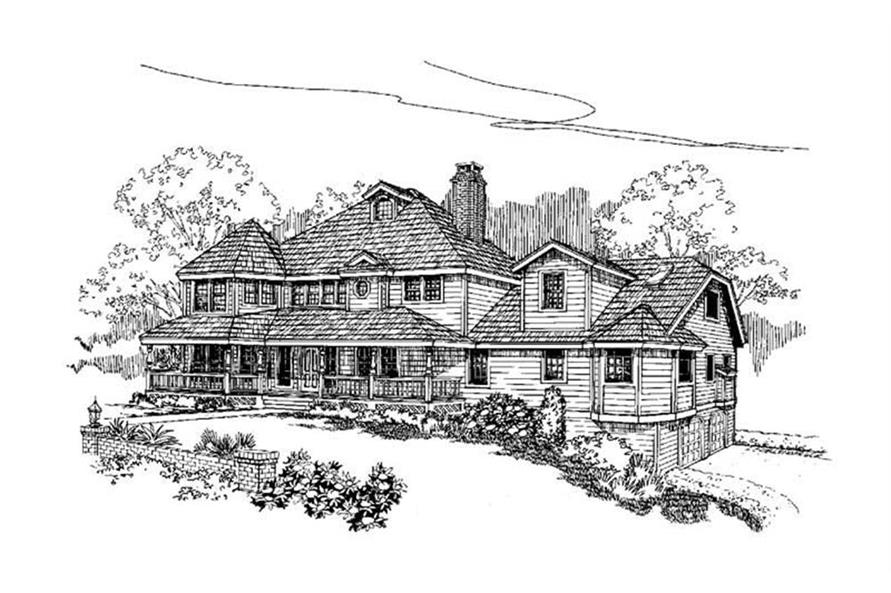 Main image for house plan # 4224