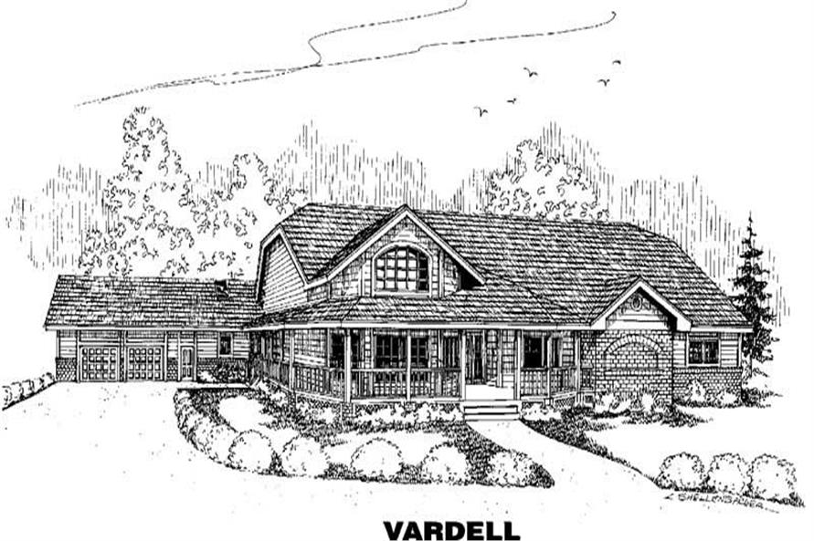 Main image for house plan # 4258