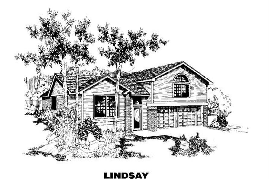 Main image for house plan # 3657