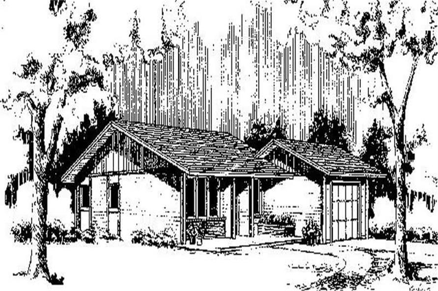 Main image for house plan # 6677