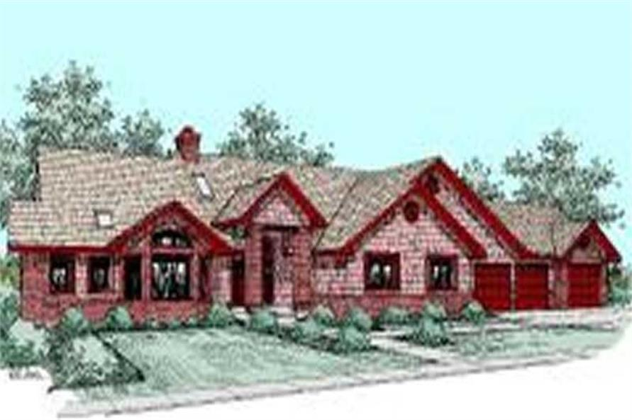 Main image for house plan # 7648