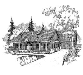 House Plan #145-1574