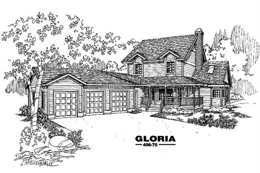 Main image for house plan # 6602