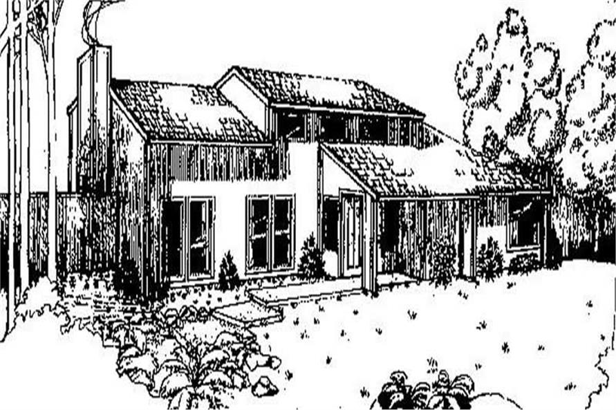 Main image for house plan # 6635