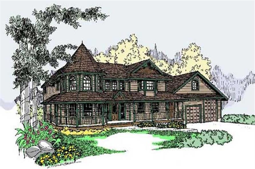 Main image for house plan # 6616