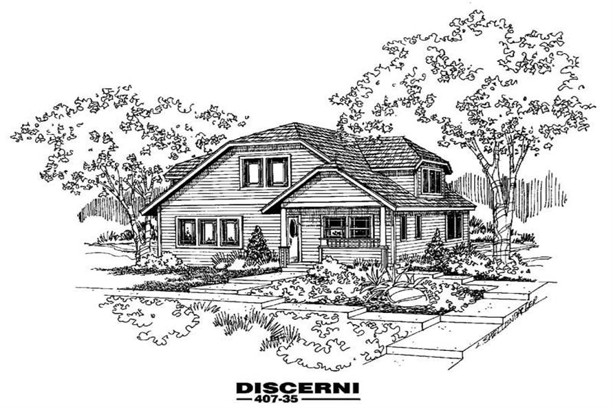 Main image for house plan # 6618