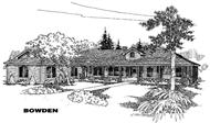Main image for house plan # 5586