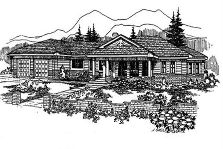 Main image for house plan # 3625