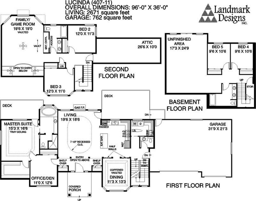 large images for house plan 145 1621