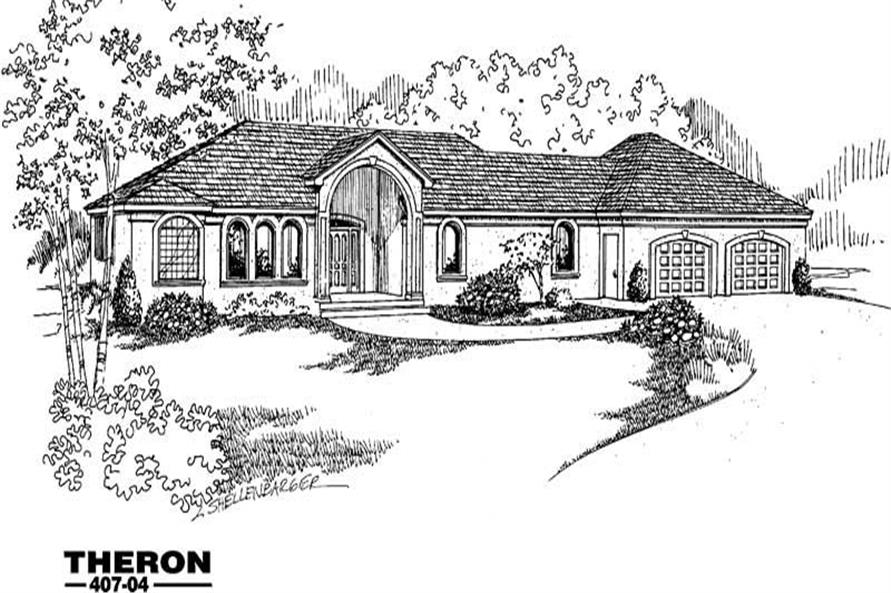 Main image for house plan # 6604