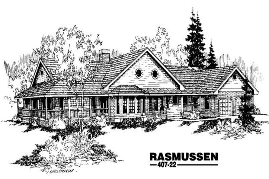 Main image for house plan # 6613