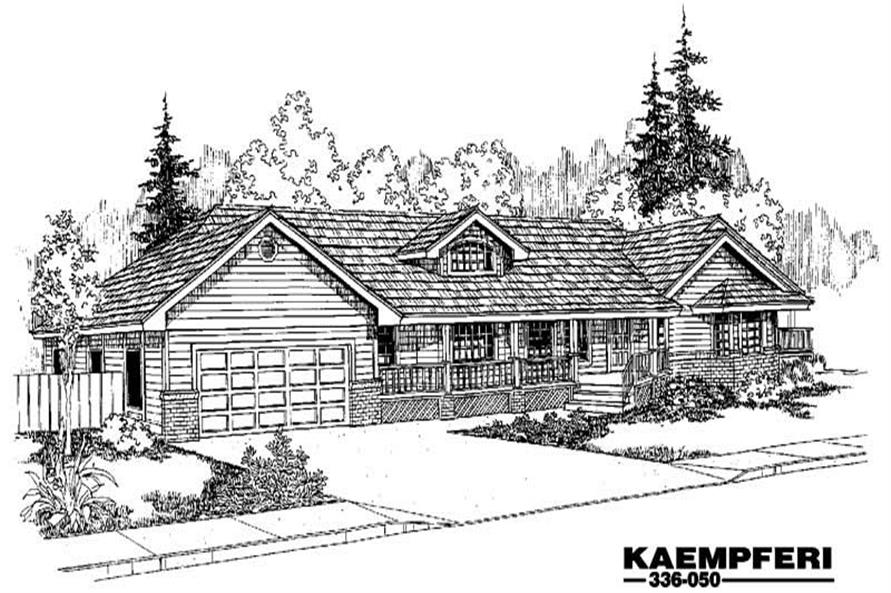 Main image for house plan # 3620