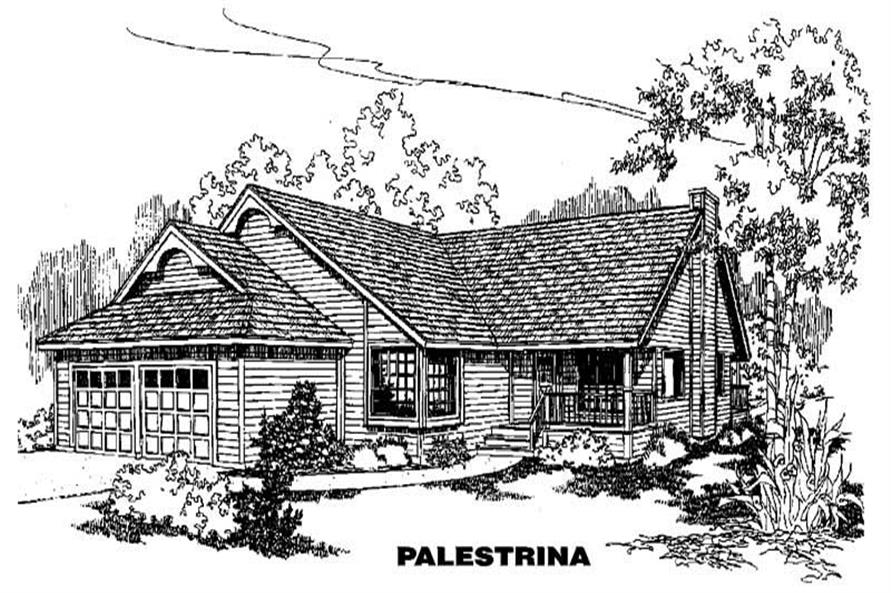 Main image for house plan # 3621