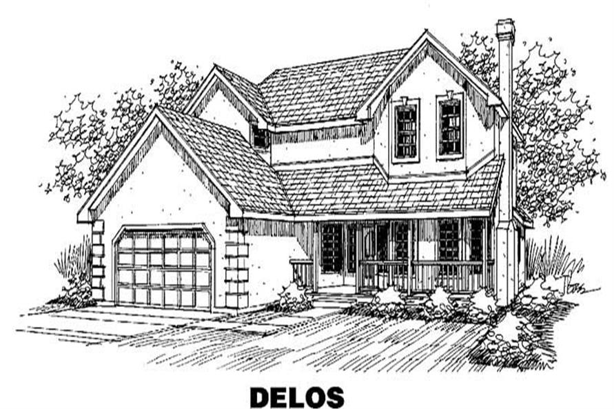 Main image for house plan # 3619
