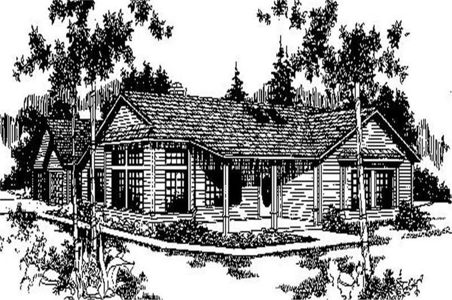 Main image for house plan # 6710