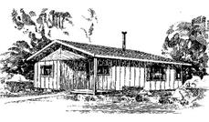 Main image for house plan # 6668