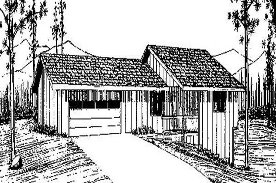 Main image for house plan # 6653