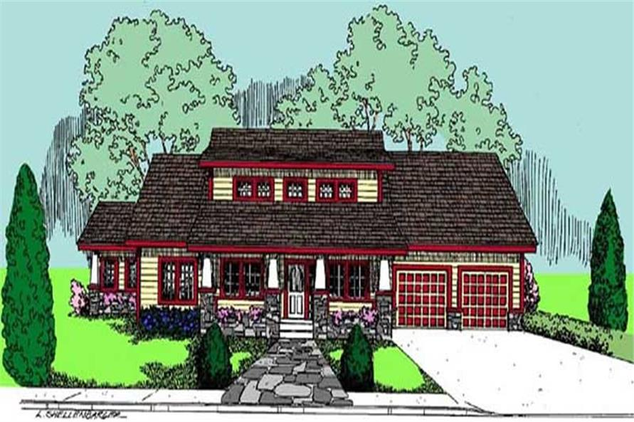Main image for house plan # 6789