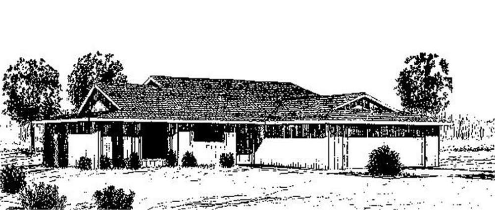 Main image for house plan # 6655