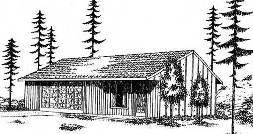 Main image for house plan # 6647