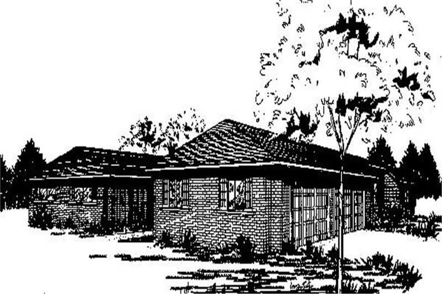 Main image for house plan # 6687