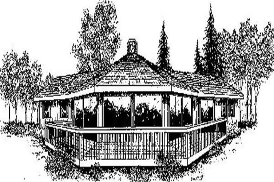 Main image for house plan # 6681