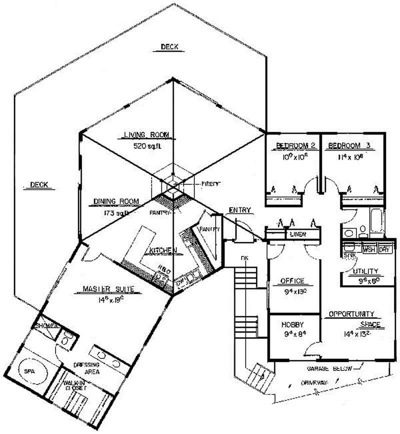 1000 Square Foot House Plans With Attached Garage