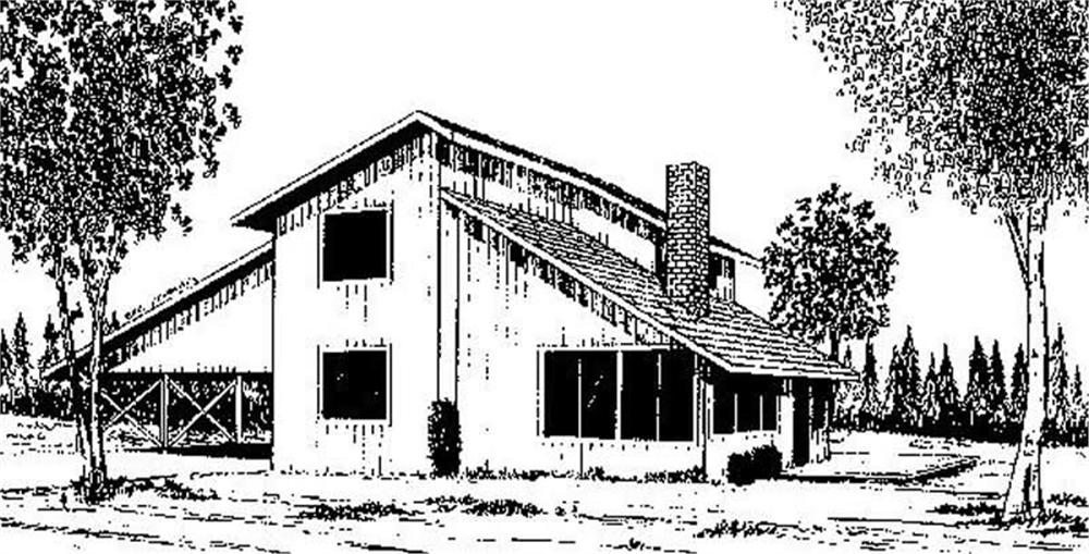 Main image for house plan # 6656