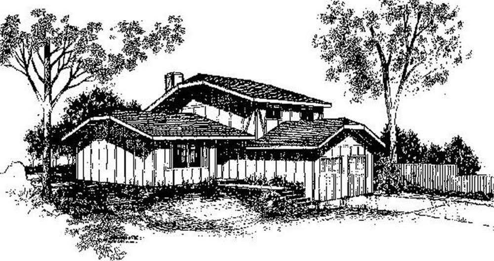 Small House Plans home (ThePlanCollection: Plan #145-1708)