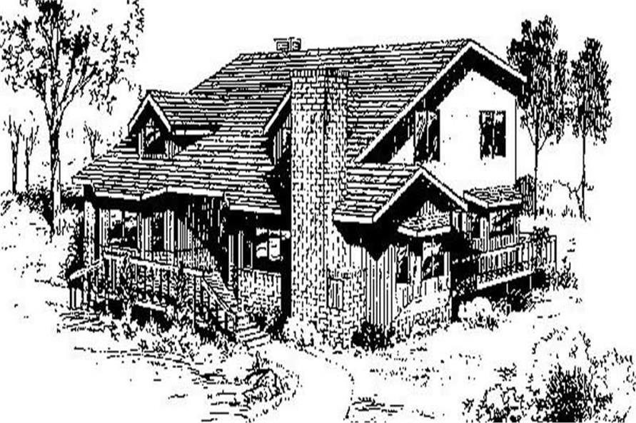 Main image for house plan # 6680