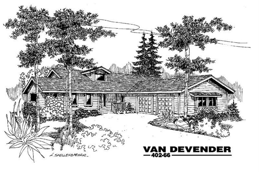 Main image for house plan # 4263