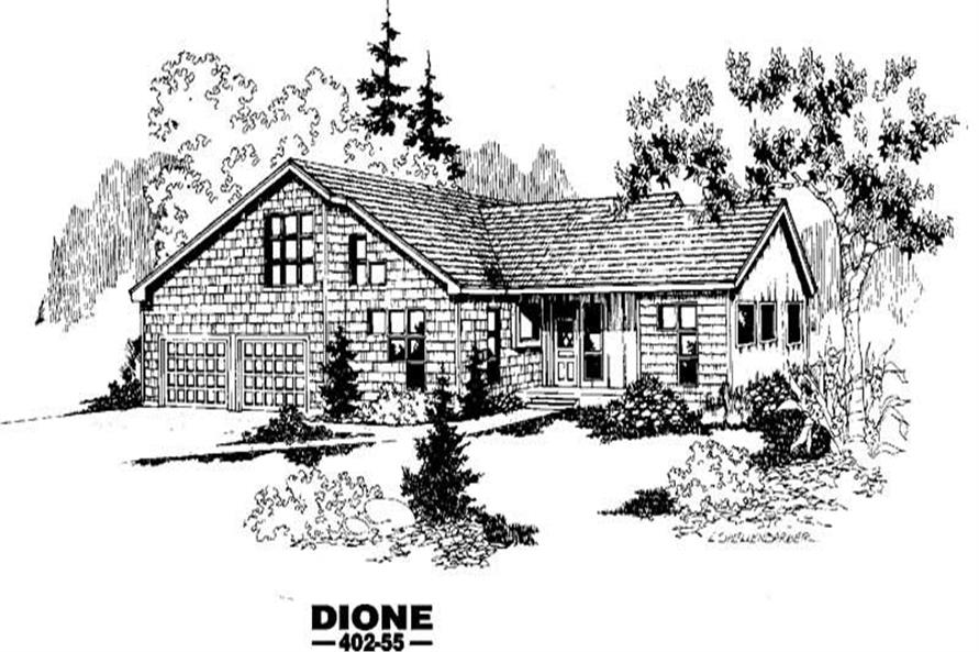 Main image for house plan # 4242