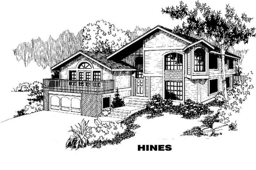Main image for house plan # 3858