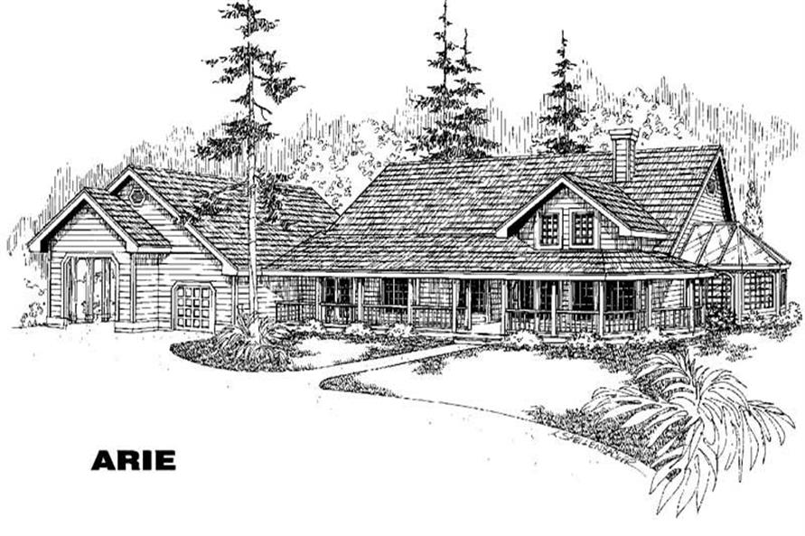 Main image for house plan # 4265