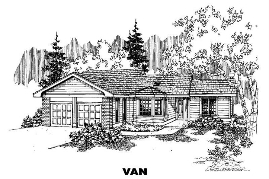 Main image for house plan # 4267
