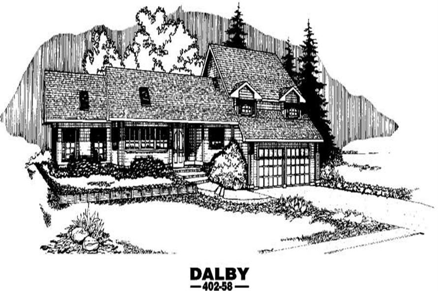 Main image for house plan # 4256