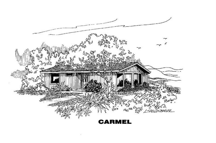 Main image for house plan # 4262