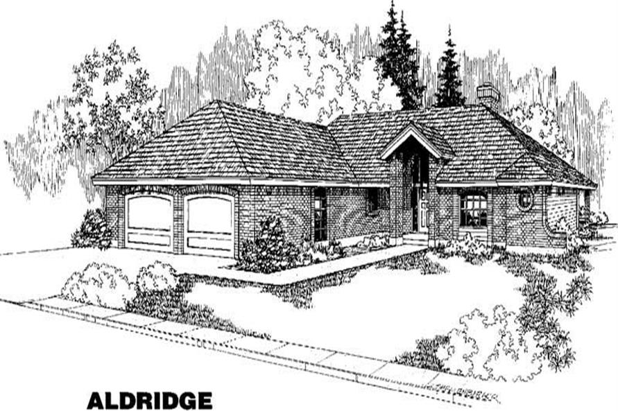 Main image for house plan # 3869