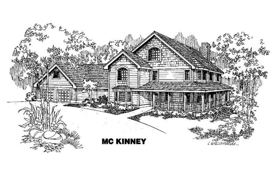 Main image for house plan # 4226
