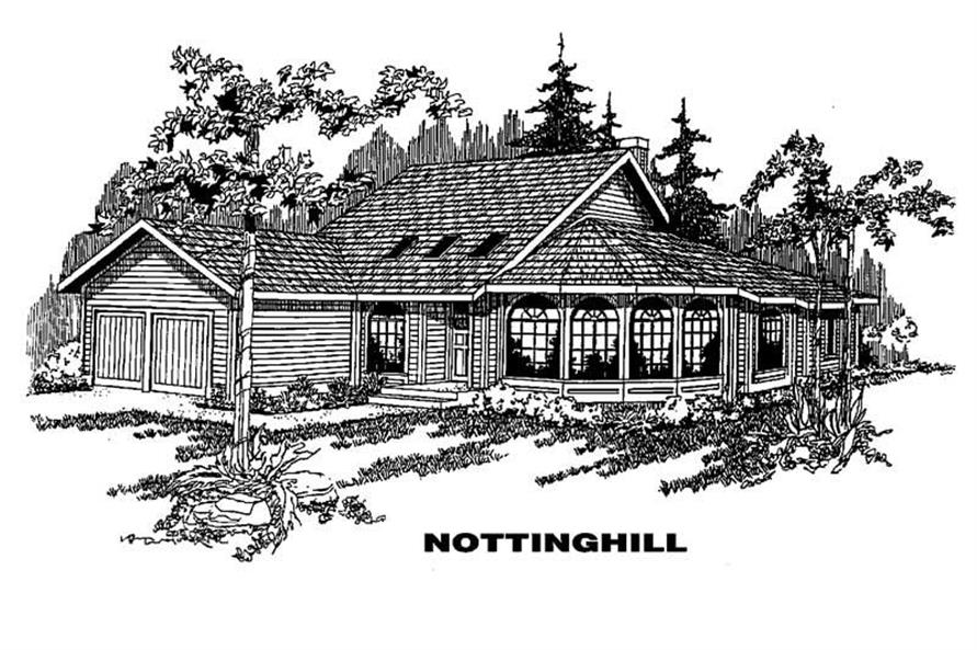 Main image for house plan # 4238
