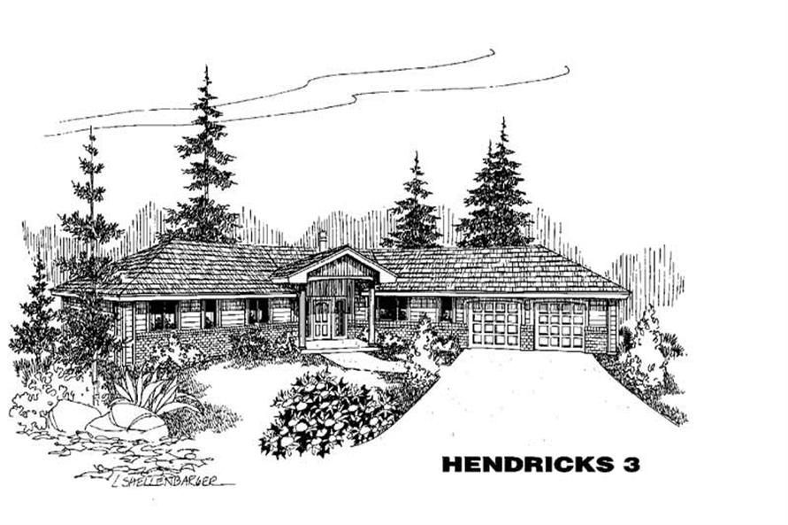 Main image for house plan # 4261