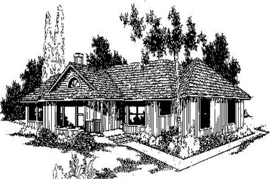 Main image for house plan # 9002