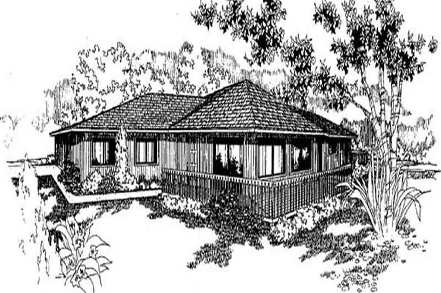 Main image for house plan # 9004