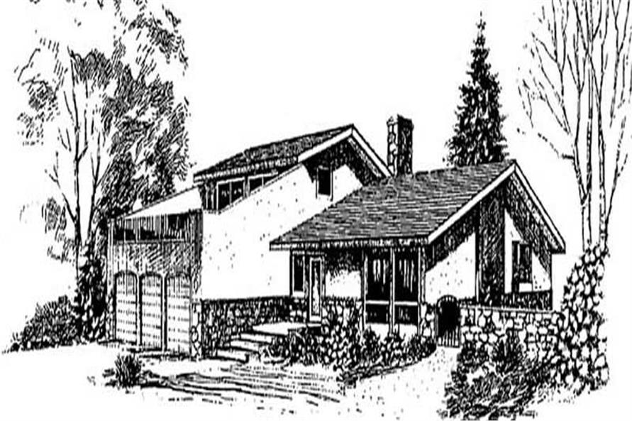 Main image for house plan # 9021