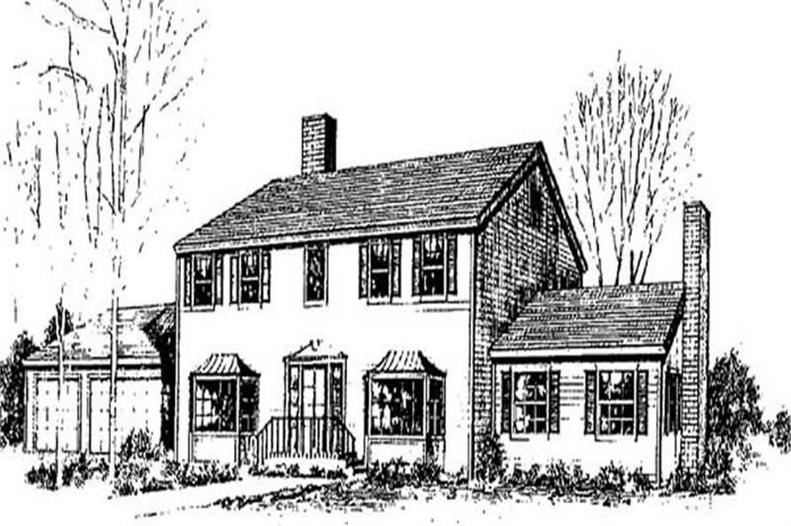 Main image for house plan # 9018
