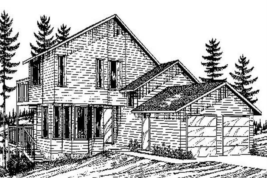 Main image for house plan # 8932